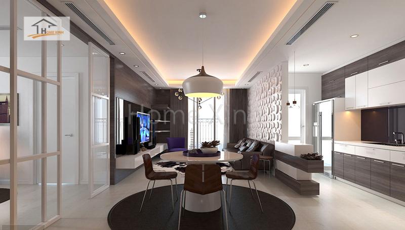 thiet ke noi that phong khach cao cap 08 - Mẫu phòng khách đẹp, hiện đại cho chung cư cao cấp