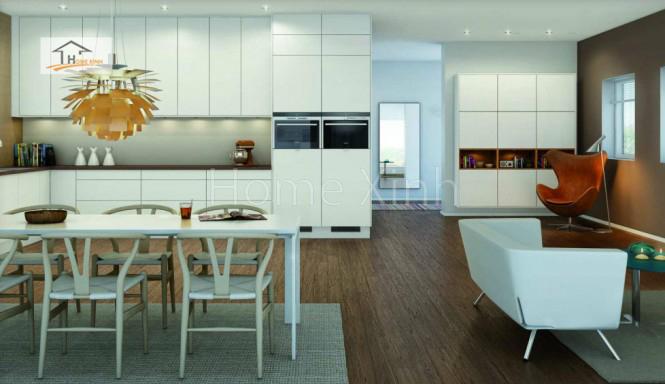 Thiết kế tủ bếp theo phong cách Bắc Âu 02