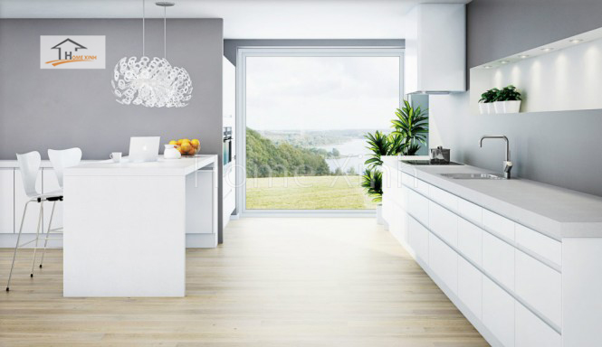 Thiết kế tủ bếp theo phong cách Bắc Âu 04