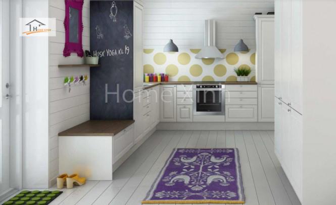 Thiết kế tủ bếp theo phong cách Bắc Âu 05