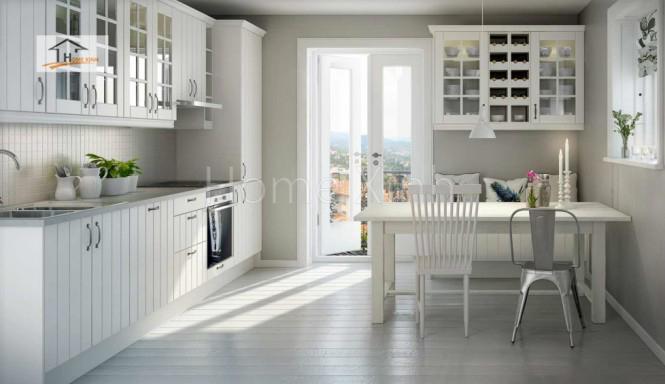 Thiết kế tủ bếp theo phong cách Bắc Âu 06
