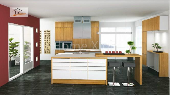 Thiết kế tủ bếp theo phong cách Bắc Âu 07