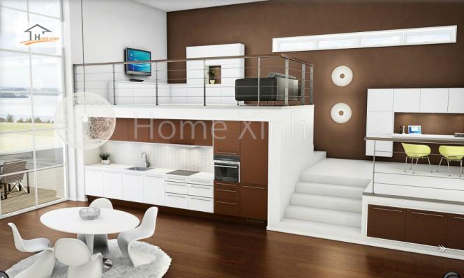 Thiết kế tủ bếp theo phong cách Bắc Âu 09