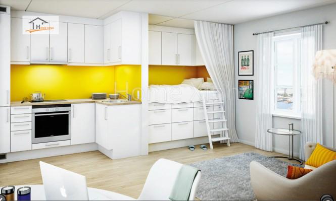 Thiết kế tủ bếp theo phong cách Bắc Âu 10