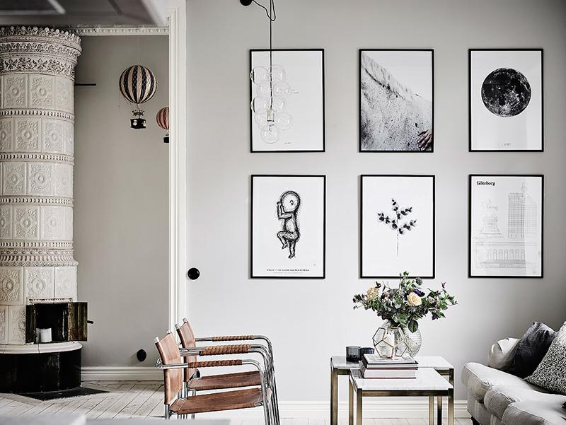 1. Phòng khách thiết kế nhẹ nhàng và trang nhã