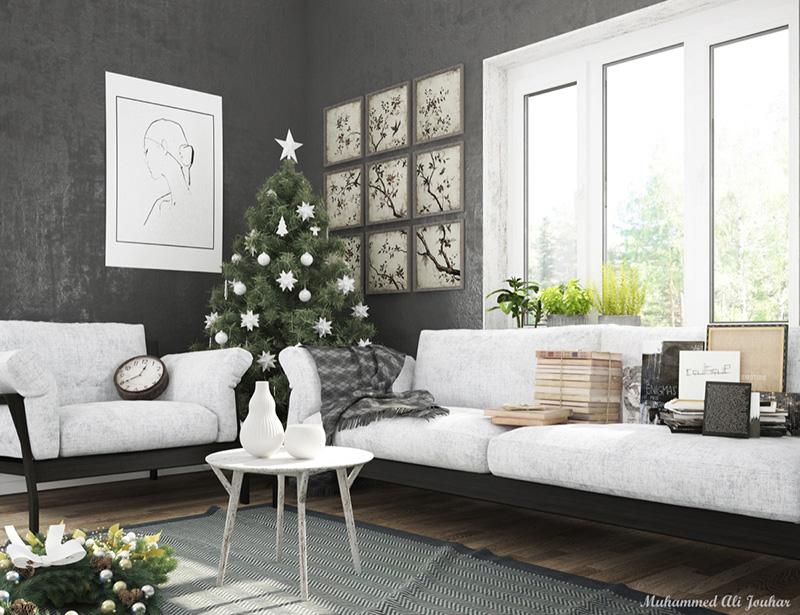 3. Phòng khách nhẹ nhàng êm ái với bộ sofa đẹp