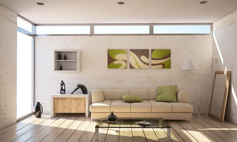 4. Mẫu phòng khách đơn giản