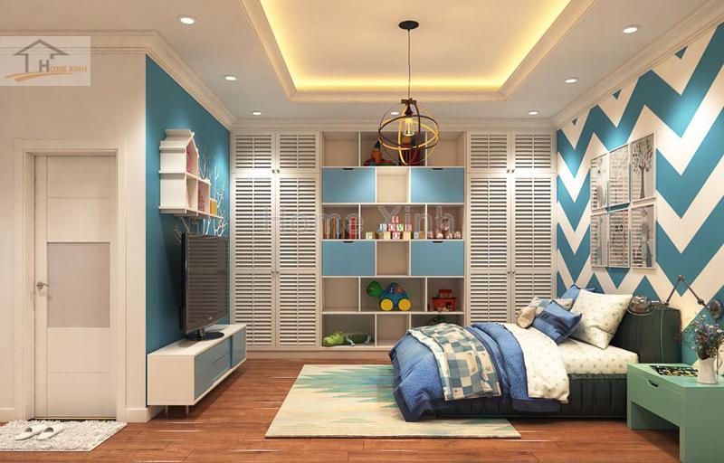 Nội thất phòng ngủ trẻ em cho bé trai cực kỳ đẹp 01