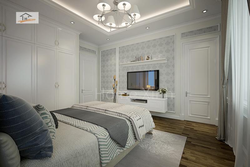 Phòng ngủ con trai năng động, trẻ trung