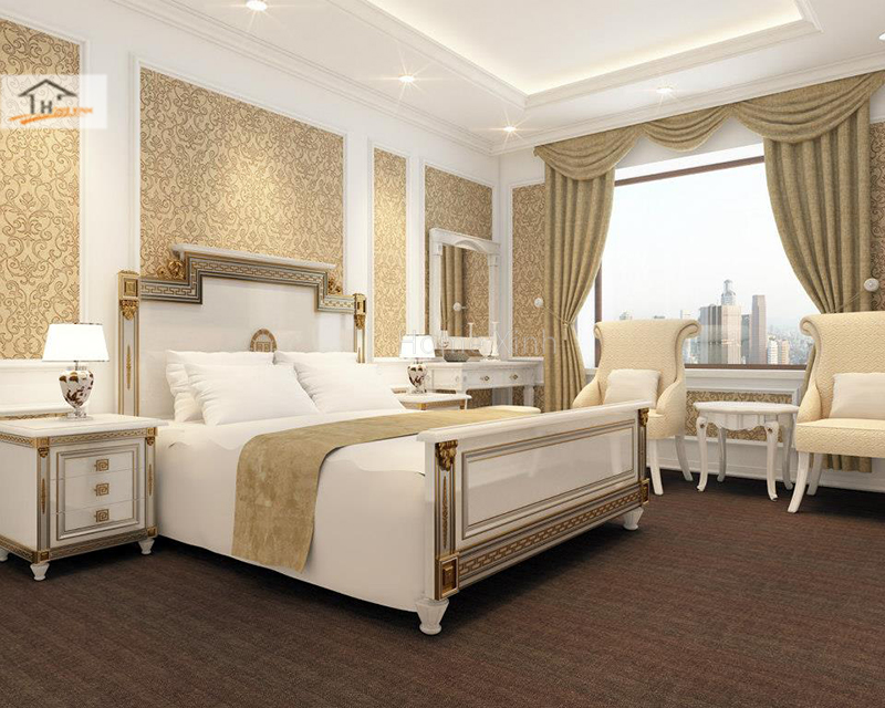 Hình ảnh 05: Thiết kế phòng ngủ phong cách tân cổ điển