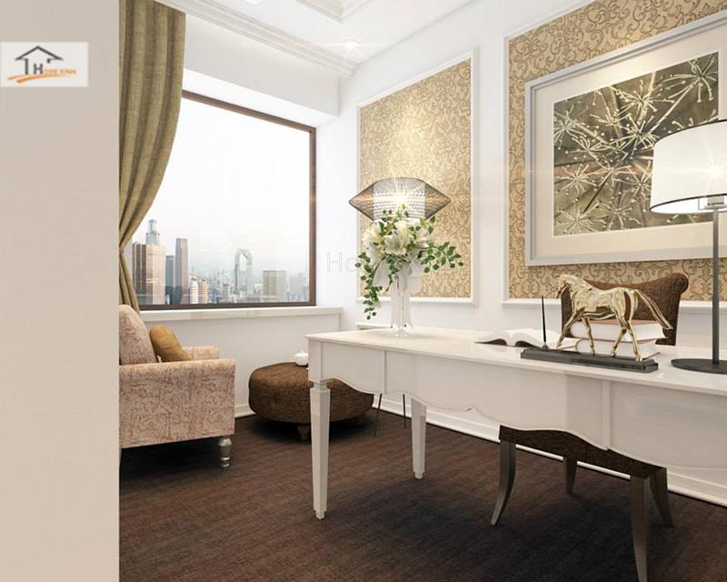 Hình ảnh 08: Thiết kế phòng ngủ phong cách tân cổ điển