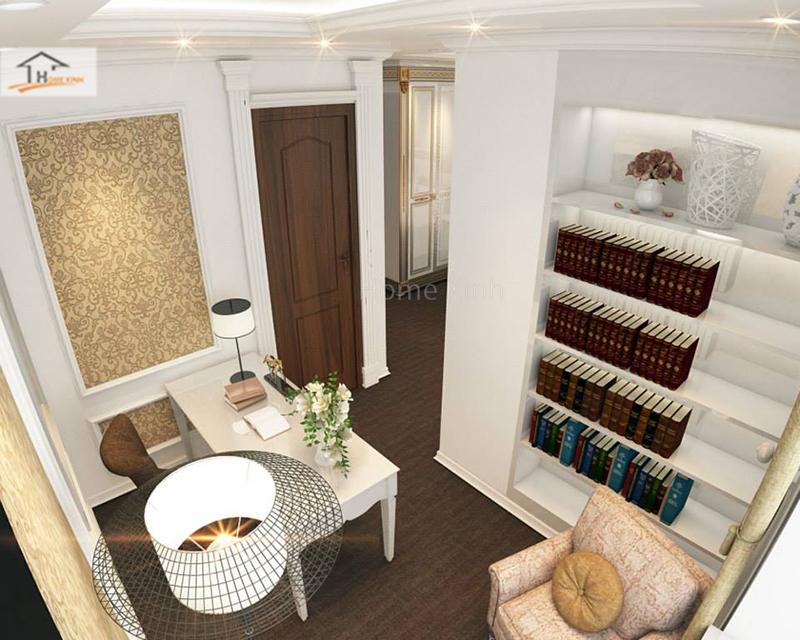 Hình ảnh 10: Thiết kế phòng ngủ phong cách tân cổ điển