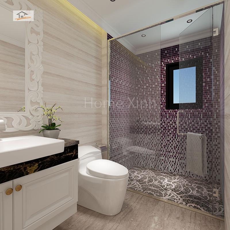 Phòng tắm rộng rãi, hiện đại
