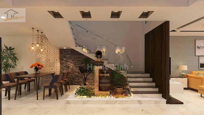 Mẫu thiết kế nội thất nhà phố hiện đại tại Mễ Trì, Hà Nội - 219553