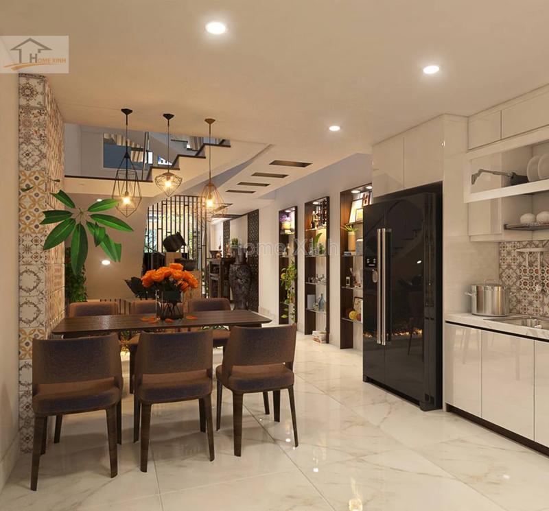 Mẫu thiết kế nội thất nhà phố hiện đại tại Mễ Trì, Hà Nội - 219551