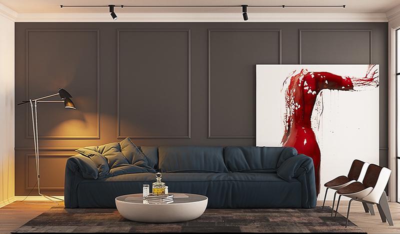 11. Mẫu phòng khách hiện đại và theo xu hướng mới