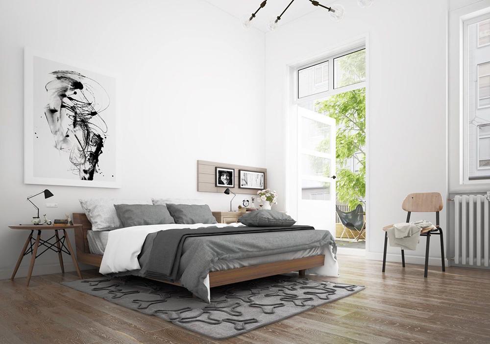 19. Mẫu phòng ngủ hiện đại và thoáng mát