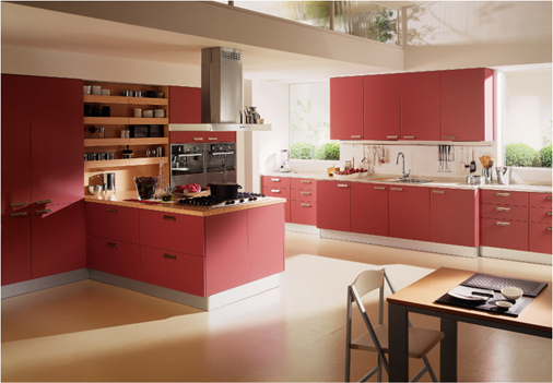 11. Không gian tủ bếp rộng được thiết kế tiện nghi và đẹp