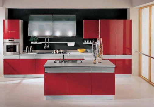 12. Mẫu tủ bếp tiếp theo với phong cách hiện đại