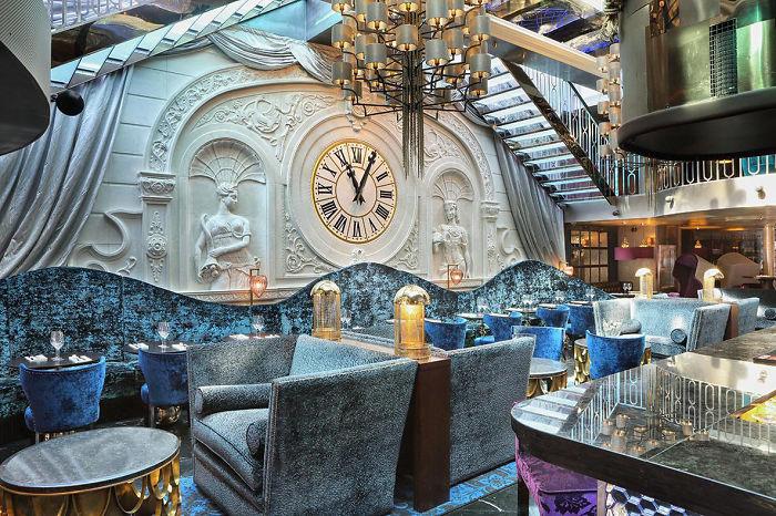 nội thất nhà hàng và bar đẹp nhất