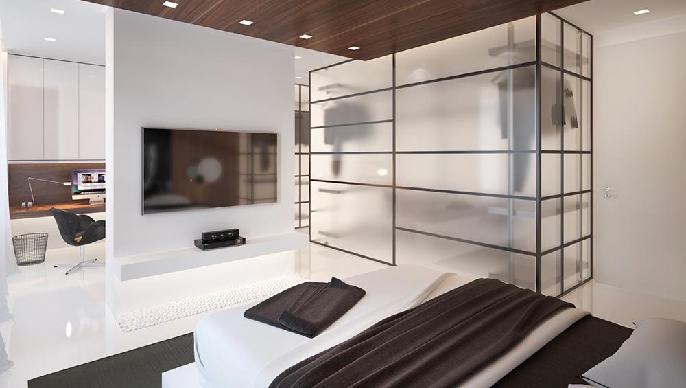 2. Thiết kế phòng ngủ ấn tượng