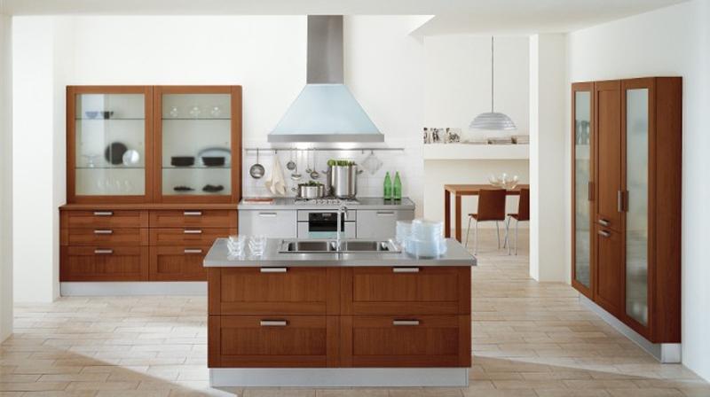 2. Tủ bếp này có thêm bar bếp tạo tiện nghi cho người nấu nướng