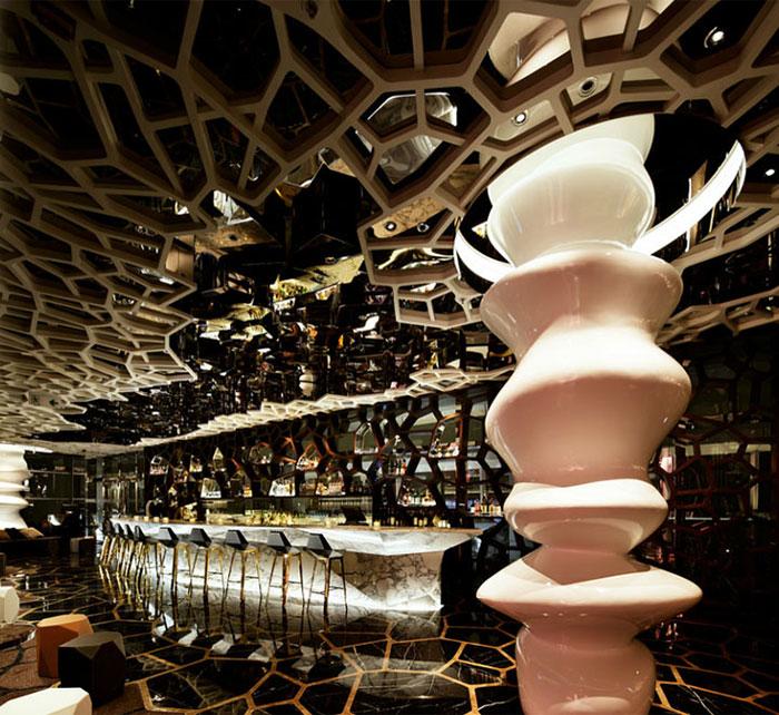 Nhà hàng Ozone bar, Hồng Kông, Trung Quốc - Hình 01