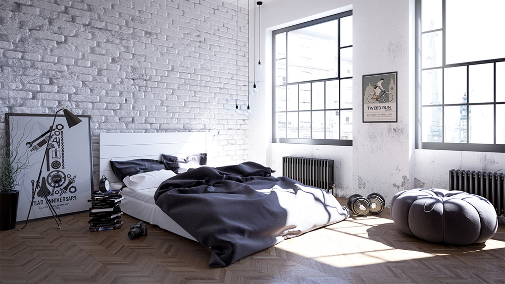 6. Mẫu nội thất đơn giản