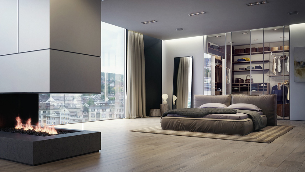 4. Không gian phòng ngủ cá tính