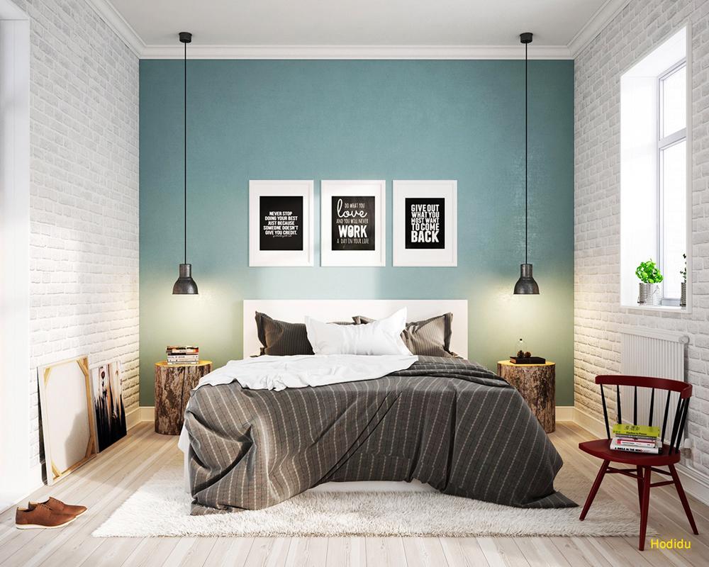 21. Mẫu phòng ngủ được thiết kế cá tính