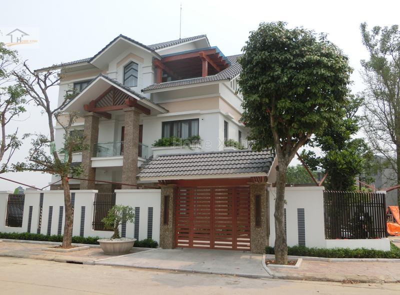 Hình 04: Kiến trúc ngôi biệt thự tại thành phố Việt Trì, tỉnh Phú Thọ