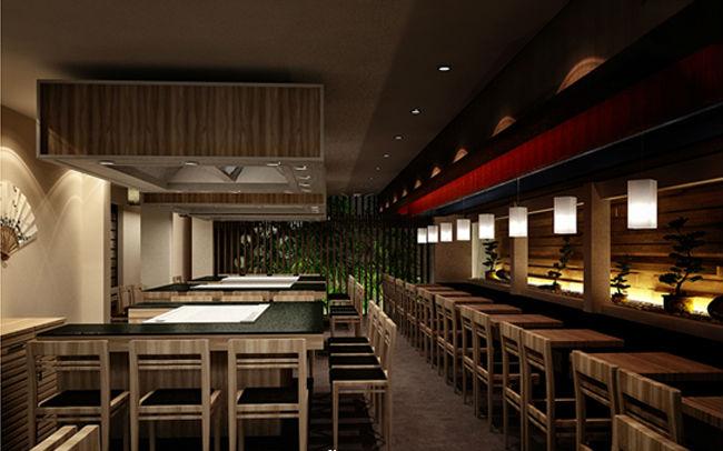 Thiết kế nội thất nhà hàng mang màu sắc hiện đại