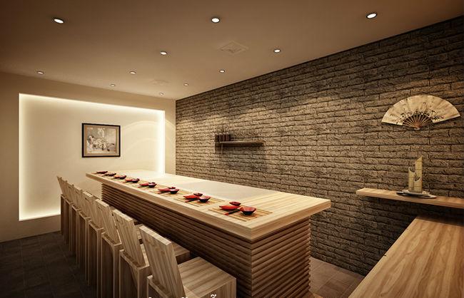 Thiết kế nhà hàng đơn giản, nhưng đầy tính hiện đại