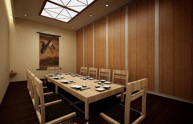 Thiết kế nhà hàng đơn giản, hiện đại