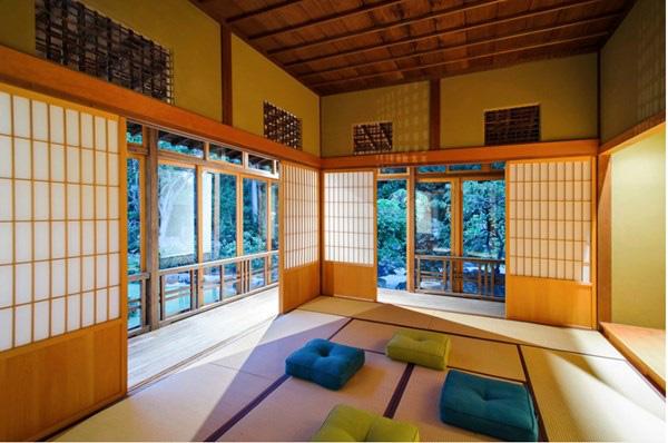 Cửa trượt, yếu tố quan trọng trong thiết kế nhà của Nhật.