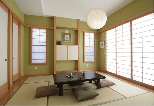 Một kiểu phòng trà hoàn hảo theo kiểu Nhật.