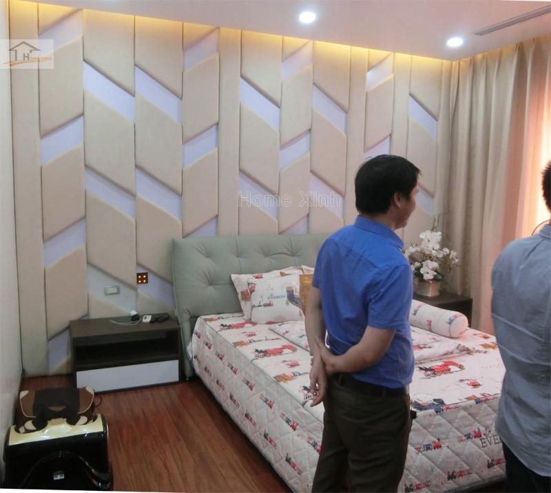 Hình 01: Thi công nội thất phòng ngủ con trai