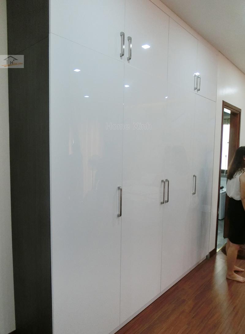 Hình 04: Thi công nội thất tủ áo phòng ngủ con trai