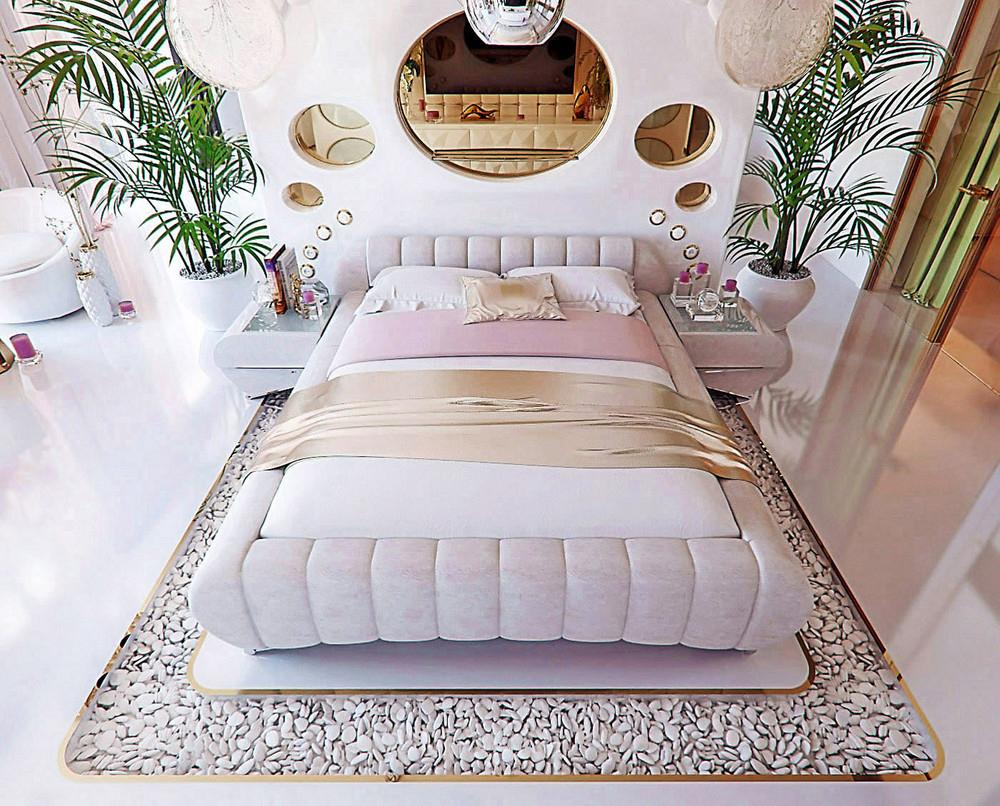 Trang trí nội thất phòng ngủ độc đáo, sáng tạo