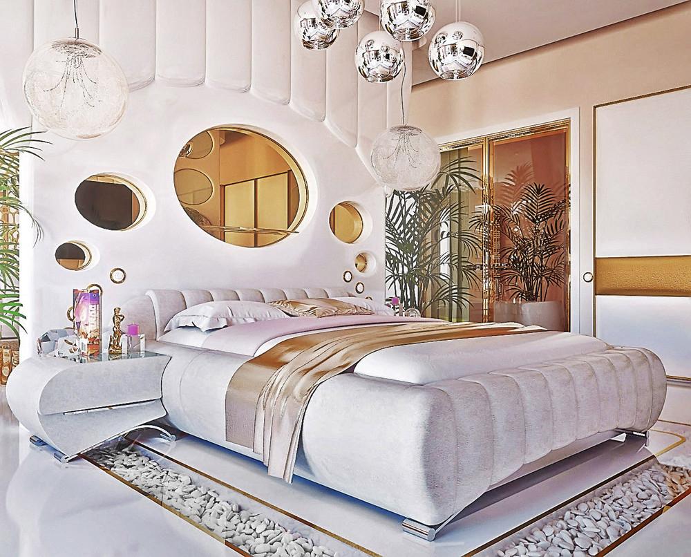 trang trí phòng ngủ đẹp, sáng tạo