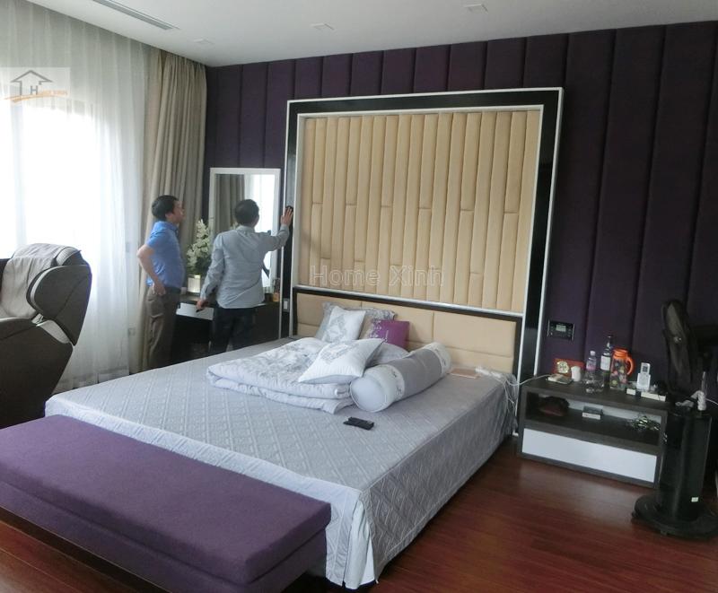 Hình ảnh 01: Thi công nội thất phòng ngủ master