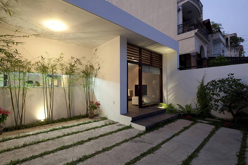 Hình 02: Thiết kế kiến trúc của ngôi nhà