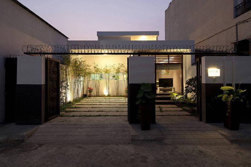 Hình 03: Thiết kế kiến trúc của ngôi nhà