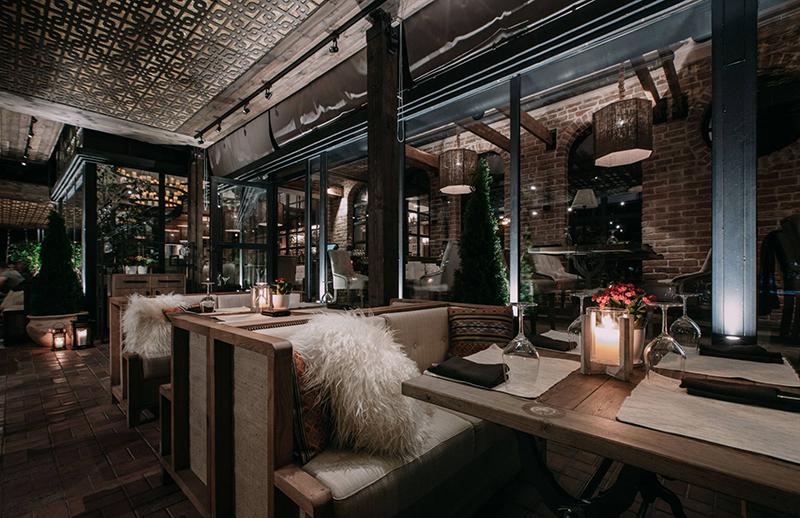 Hình 09: Thiết kế nội thất nhà hàng sang trọng hợp phong thủy