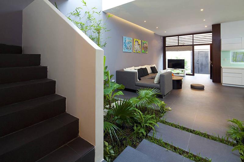 Nội thất nhà ở đẹp, cá tính - phòng khách