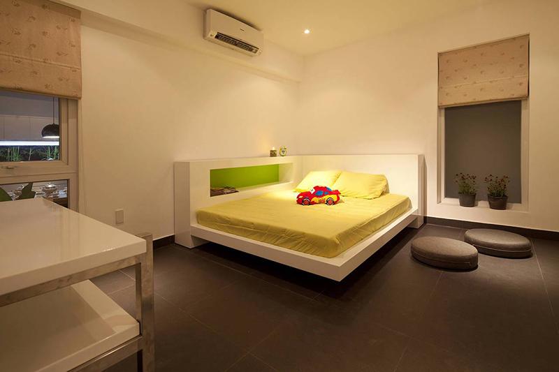 Nội thất nhà ở đẹp, cá tính - phòng ngủ