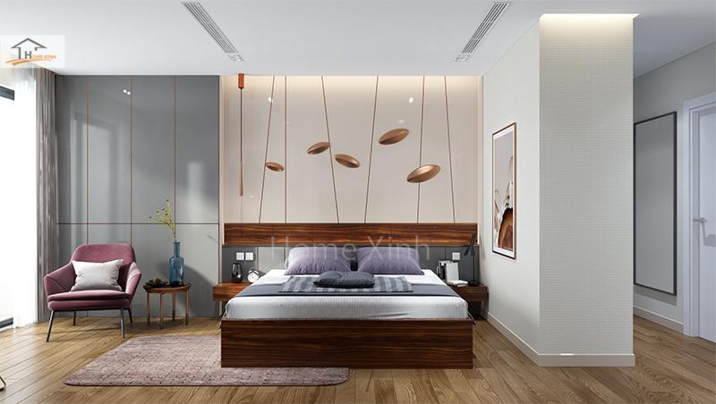 Hình 01: Mẫu phòng ngủ đẹp và cá tính cho các bạn muốn thiết kế phòng ngủ