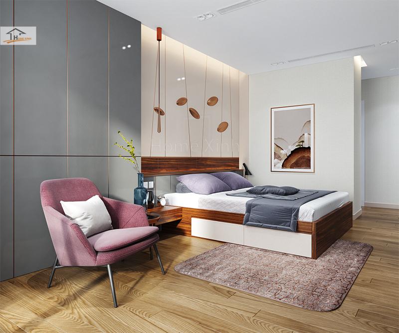 Hình 03: Mẫu phòng ngủ đẹp và cá tính cho các bạn muốn thiết kế phòng ngủ