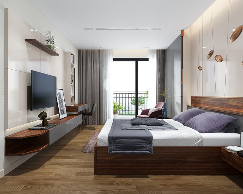 Hình 06: Mẫu phòng ngủ đẹp và cá tính cho các bạn muốn thiết kế phòng ngủ