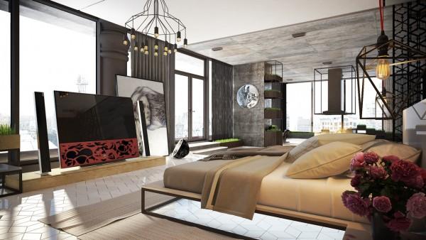 Thiết kế giường ngủ hợp phong thủy